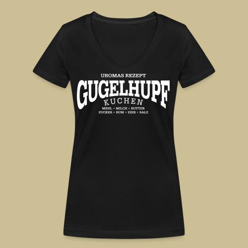 Gugelhupf (white) - Frauen Bio-T-Shirt mit V-Ausschnitt von Stanley & Stella