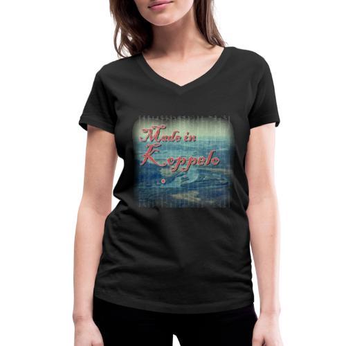 Made in Koppelo lippis - Stanley & Stellan naisten v-aukkoinen luomu-T-paita