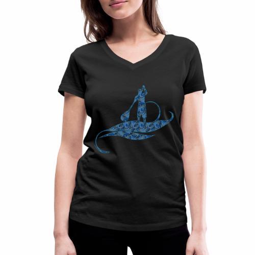 Blue Ocean - T-shirt bio col V Stanley & Stella Femme
