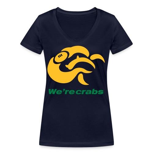 Crazycrab_Australia - T-shirt ecologica da donna con scollo a V di Stanley & Stella