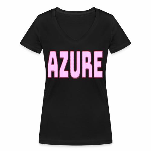 AZURE - T-shirt bio col V Stanley & Stella Femme