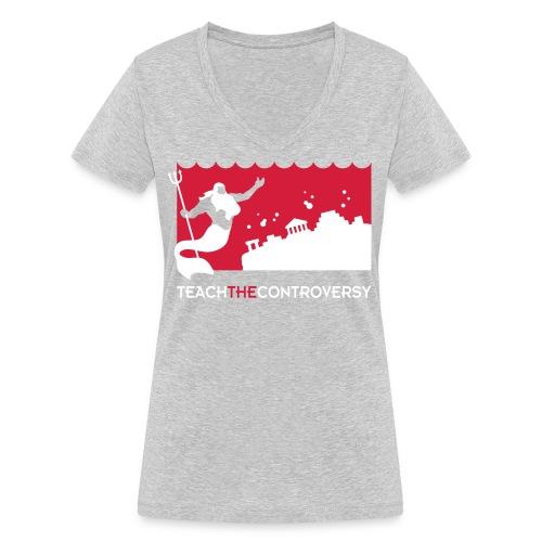 atlantis - Women's Organic V-Neck T-Shirt by Stanley & Stella
