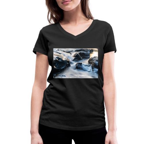 Sense LT 2 2 - Frauen Bio-T-Shirt mit V-Ausschnitt von Stanley & Stella