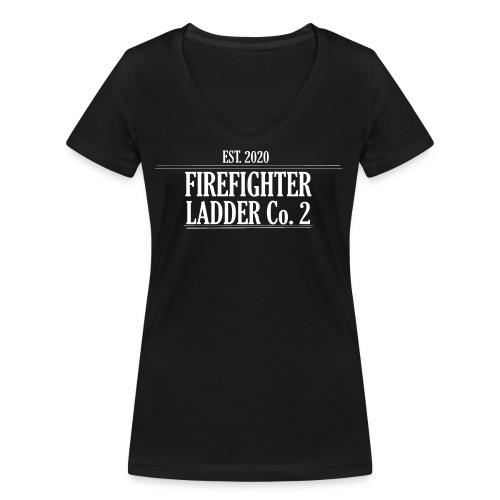 Firefighter Ladder Co. 2 - Økologisk Stanley & Stella T-shirt med V-udskæring til damer