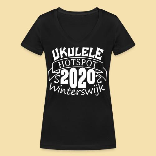 WW2020 - Frauen Bio-T-Shirt mit V-Ausschnitt von Stanley & Stella