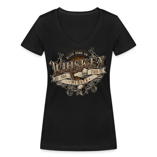 Rocker Member - Frauen Bio-T-Shirt mit V-Ausschnitt von Stanley & Stella