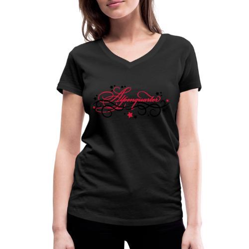 Alpenquarter - Frauen Bio-T-Shirt mit V-Ausschnitt von Stanley & Stella