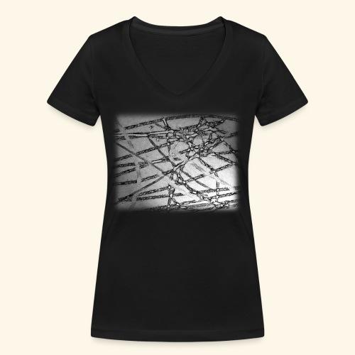 Muster15.png - Frauen Bio-T-Shirt mit V-Ausschnitt von Stanley & Stella