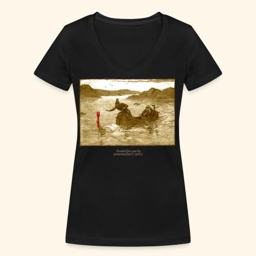 Geek T Shirt Excalibur 2.0 - Frauen Bio-T-Shirt mit V-Ausschnitt von Stanley & Stella