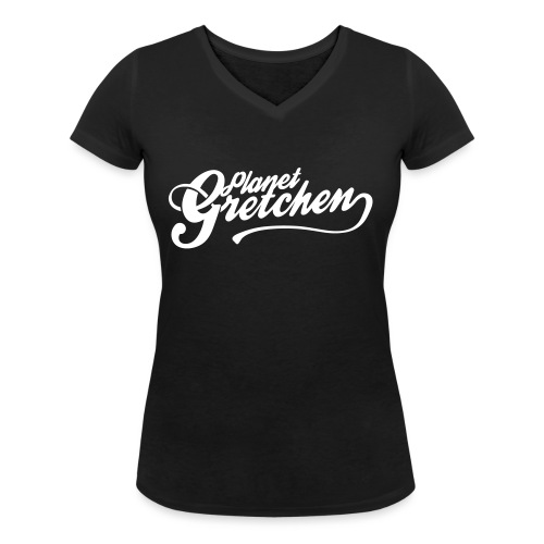 Planet Gretchen - Ekologisk T-shirt med V-ringning dam från Stanley & Stella