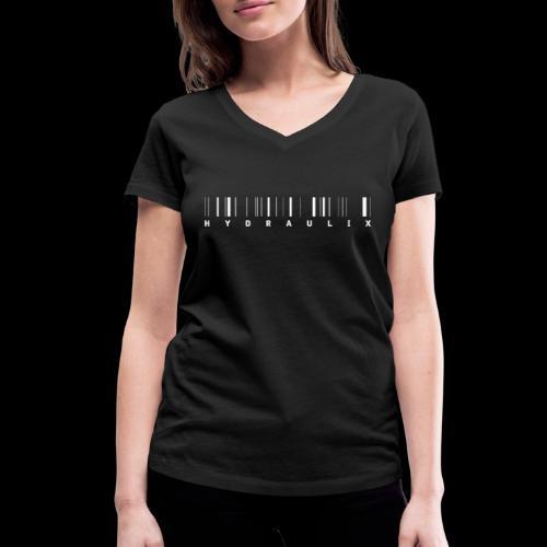 HYDRAULIX LOGO - Women's Organic V-Neck T-Shirt by Stanley & Stella
