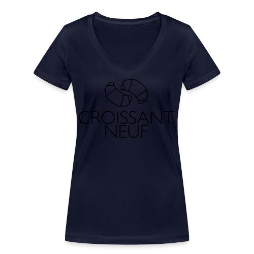Croissaint Neuf - Vrouwen bio T-shirt met V-hals van Stanley & Stella