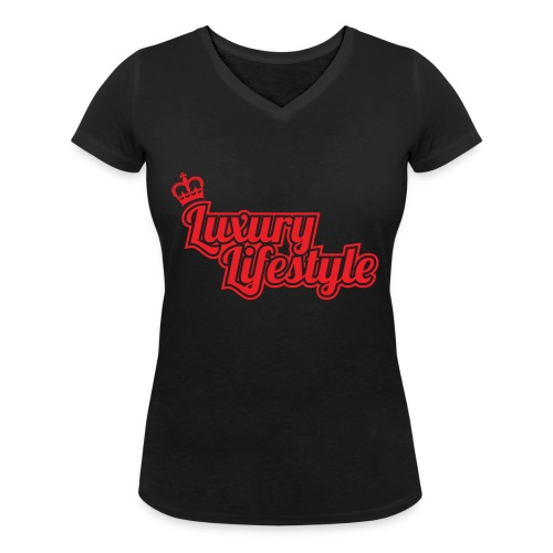 Luxury lifestyle t-shirt Brand New - Women's Organic V-Neck T-Shirt by Stanley & Stella