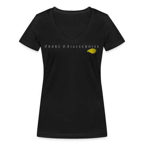 Ordre_d'Aiglecroise_V06 - T-shirt bio col V Stanley & Stella Femme