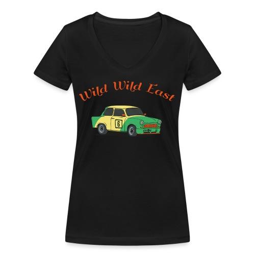 Wild Wild East - Frauen Bio-T-Shirt mit V-Ausschnitt von Stanley & Stella