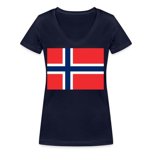 DixieMertch - Økologisk T-skjorte med V-hals for kvinner fra Stanley & Stella