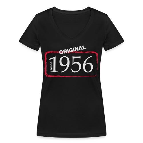 1956 - Frauen Bio-T-Shirt mit V-Ausschnitt von Stanley & Stella