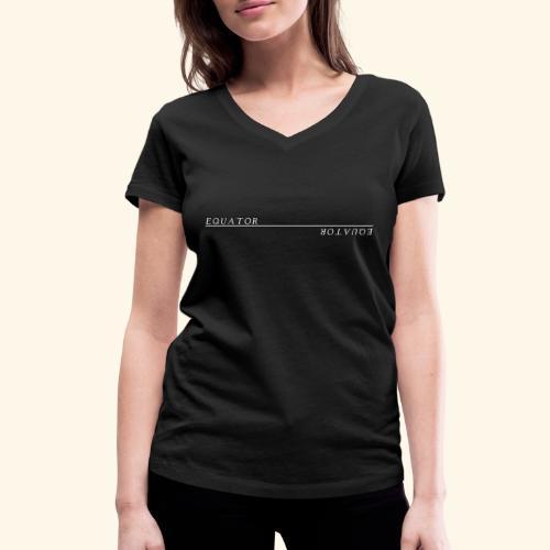 Equator - Frauen Bio-T-Shirt mit V-Ausschnitt von Stanley & Stella