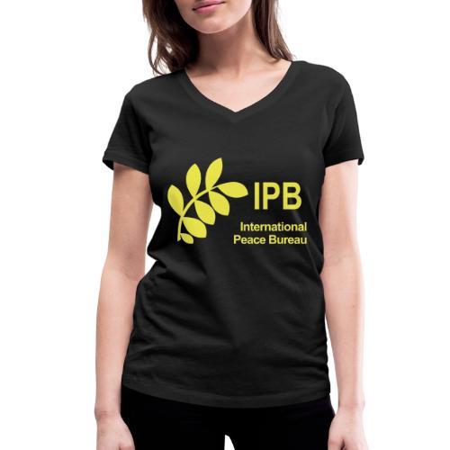 International Peace Bureau IPB Logo - Women's Organic V-Neck T-Shirt by Stanley & Stella