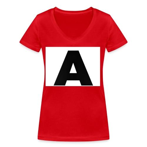 A-685FC343 4709 4F14 B1B0 D5C988344C3B - Økologisk Stanley & Stella T-shirt med V-udskæring til damer