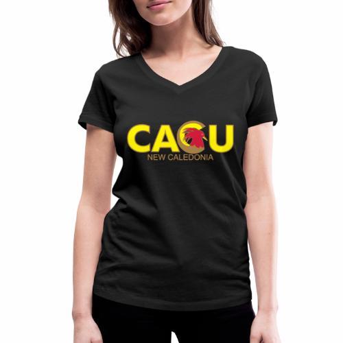 Cagu New Caldeonia - T-shirt bio col V Stanley & Stella Femme