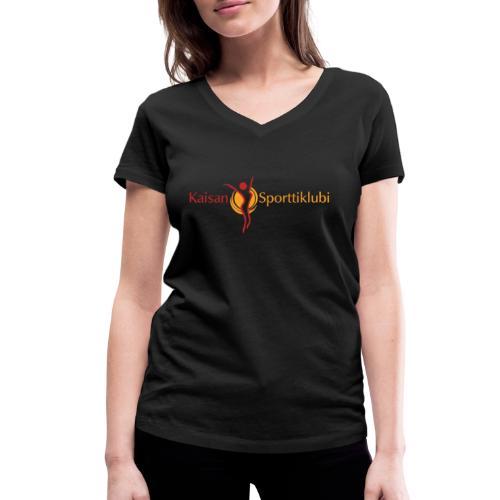 Kaisan Sporttiklubi logo - Stanley & Stellan naisten v-aukkoinen luomu-T-paita