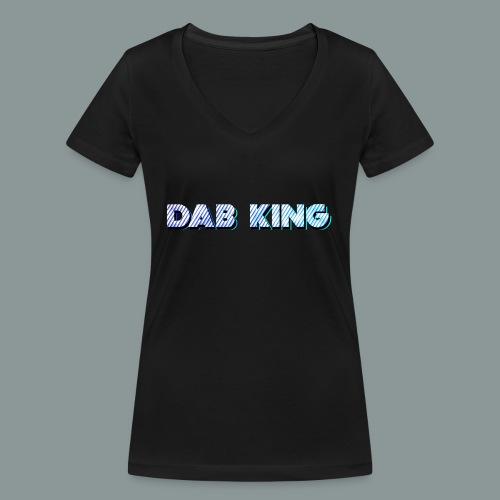 Dab King 2 - Frauen Bio-T-Shirt mit V-Ausschnitt von Stanley & Stella