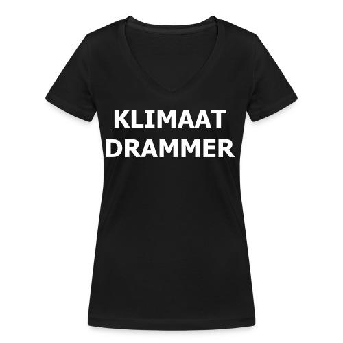Klimaat Drammer - Women's Organic V-Neck T-Shirt by Stanley & Stella