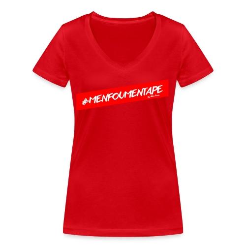 MENFOUMENTAPE Hashtag by Alice Kara - T-shirt bio col V Stanley & Stella Femme