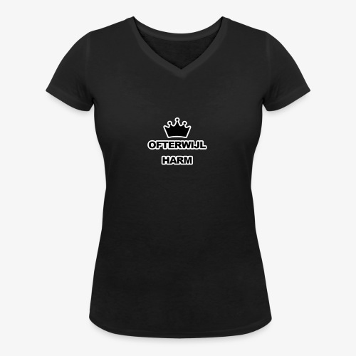 logo png - Vrouwen bio T-shirt met V-hals van Stanley & Stella
