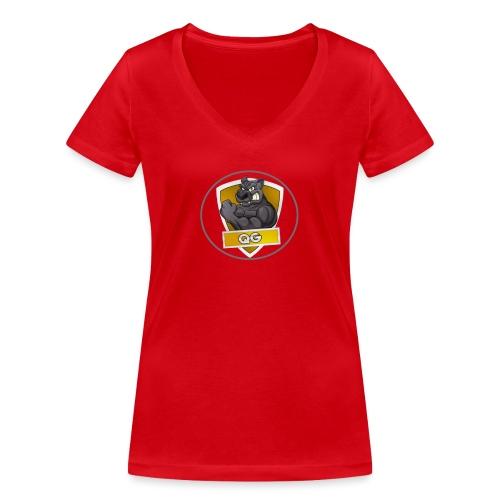 QUICK GAMING - Women's Organic V-Neck T-Shirt by Stanley & Stella