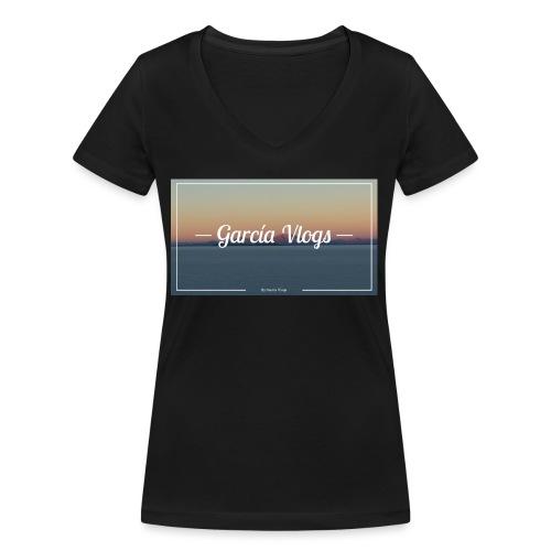 Garcíavlogs - Camiseta ecológica mujer con cuello de pico de Stanley & Stella