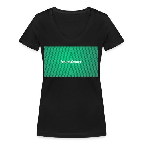 backgrounder - Frauen Bio-T-Shirt mit V-Ausschnitt von Stanley & Stella