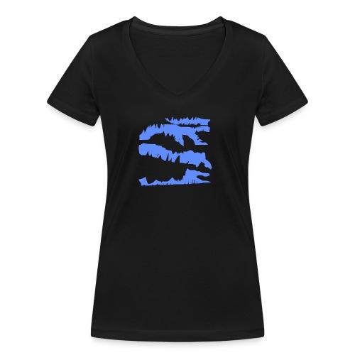 Blue_Sample.png - Frauen Bio-T-Shirt mit V-Ausschnitt von Stanley & Stella