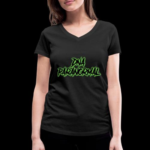 DNA PARANORMAL - Women's Organic V-Neck T-Shirt by Stanley & Stella