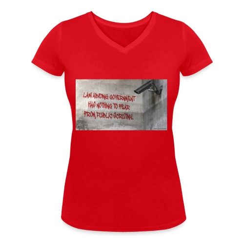 Nothing to Fear - Women's Organic V-Neck T-Shirt by Stanley & Stella