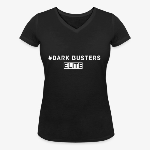 #DarkBusters ELITE - Frauen Bio-T-Shirt mit V-Ausschnitt von Stanley & Stella