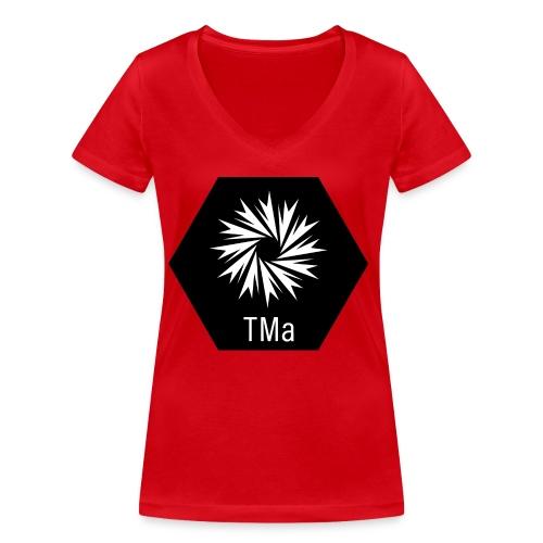 TMa - Stanley & Stellan naisten v-aukkoinen luomu-T-paita
