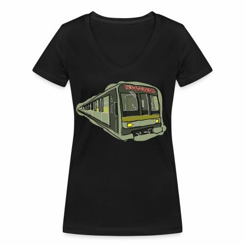 Urban convoy - T-shirt ecologica da donna con scollo a V di Stanley & Stella