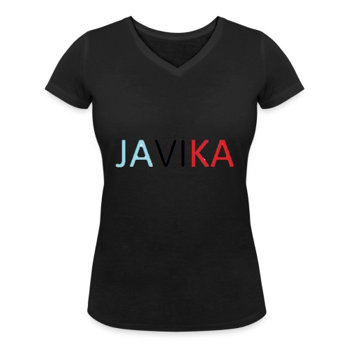 JAVIKA - Vrouwen bio T-shirt met V-hals van Stanley & Stella