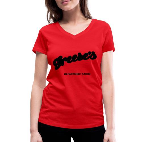Es (Freeses) - Frauen Bio-T-Shirt mit V-Ausschnitt von Stanley & Stella