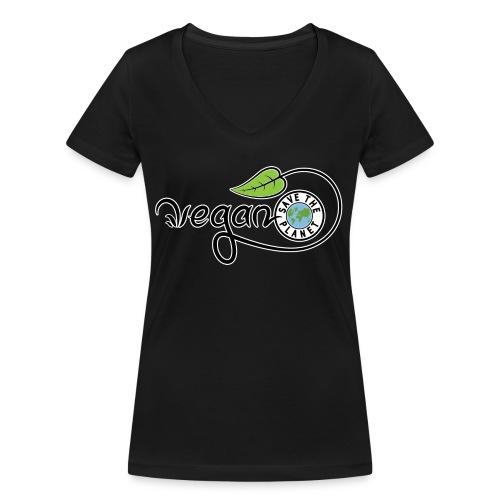 Vegan - T-shirt bio col V Stanley & Stella Femme