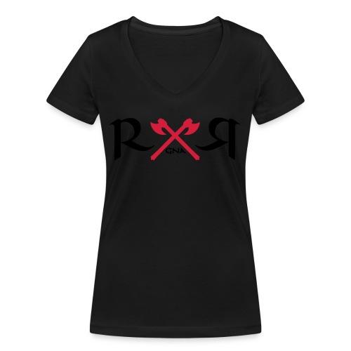 Ragnar_2 - Frauen Bio-T-Shirt mit V-Ausschnitt von Stanley & Stella