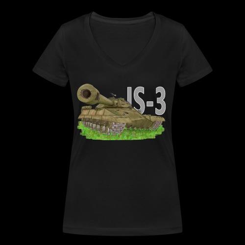 IS-3 (Writing) - T-shirt ecologica da donna con scollo a V di Stanley & Stella