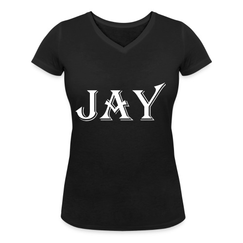 Prodotto JAY - T-shirt ecologica da donna con scollo a V di Stanley & Stella