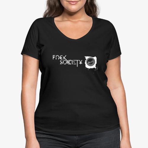 fsociety - Frauen Bio-T-Shirt mit V-Ausschnitt von Stanley & Stella