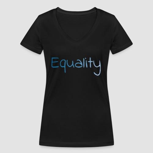 equality - Ekologisk T-shirt med V-ringning dam från Stanley & Stella
