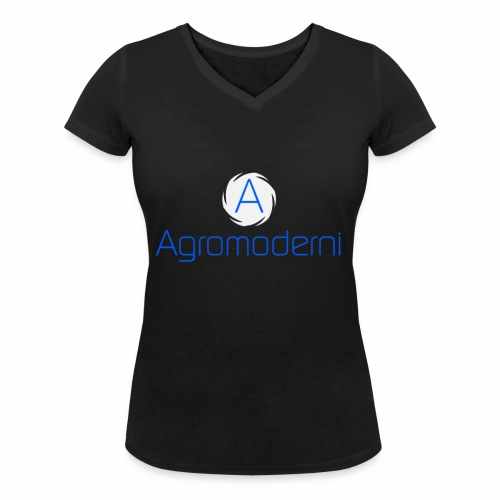 Logo png - T-shirt ecologica da donna con scollo a V di Stanley & Stella