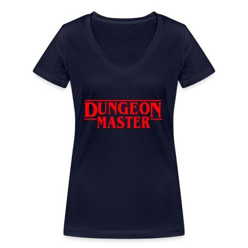 Dungeon Master - D & D Dungeonit ja lohikäärmeet dnd - Stanley & Stellan naisten v-aukkoinen luomu-T-paita