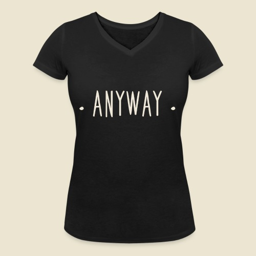 Anyway - T-shirt bio col V Stanley & Stella Femme
